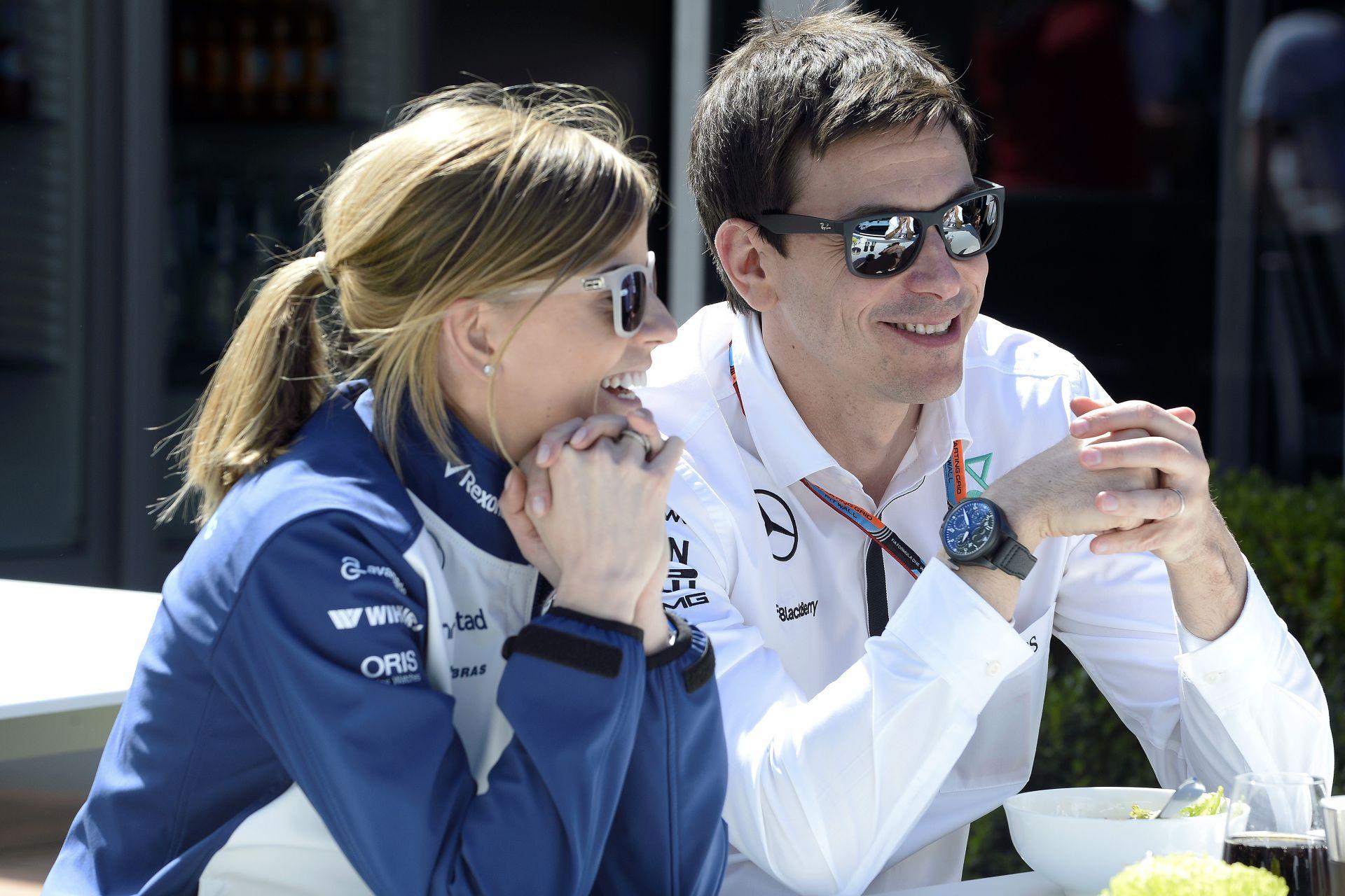 Williams: Wolff nem vezethet Bottas helyén, mivel csak tesztpilóta!