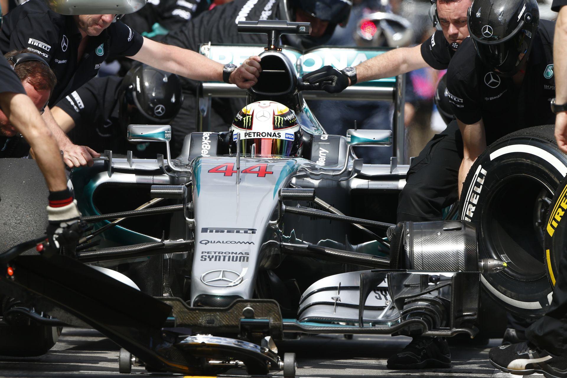 A Mercedes nem akar nagy változásokat a Forma-1-ben: Nem véletlenül…