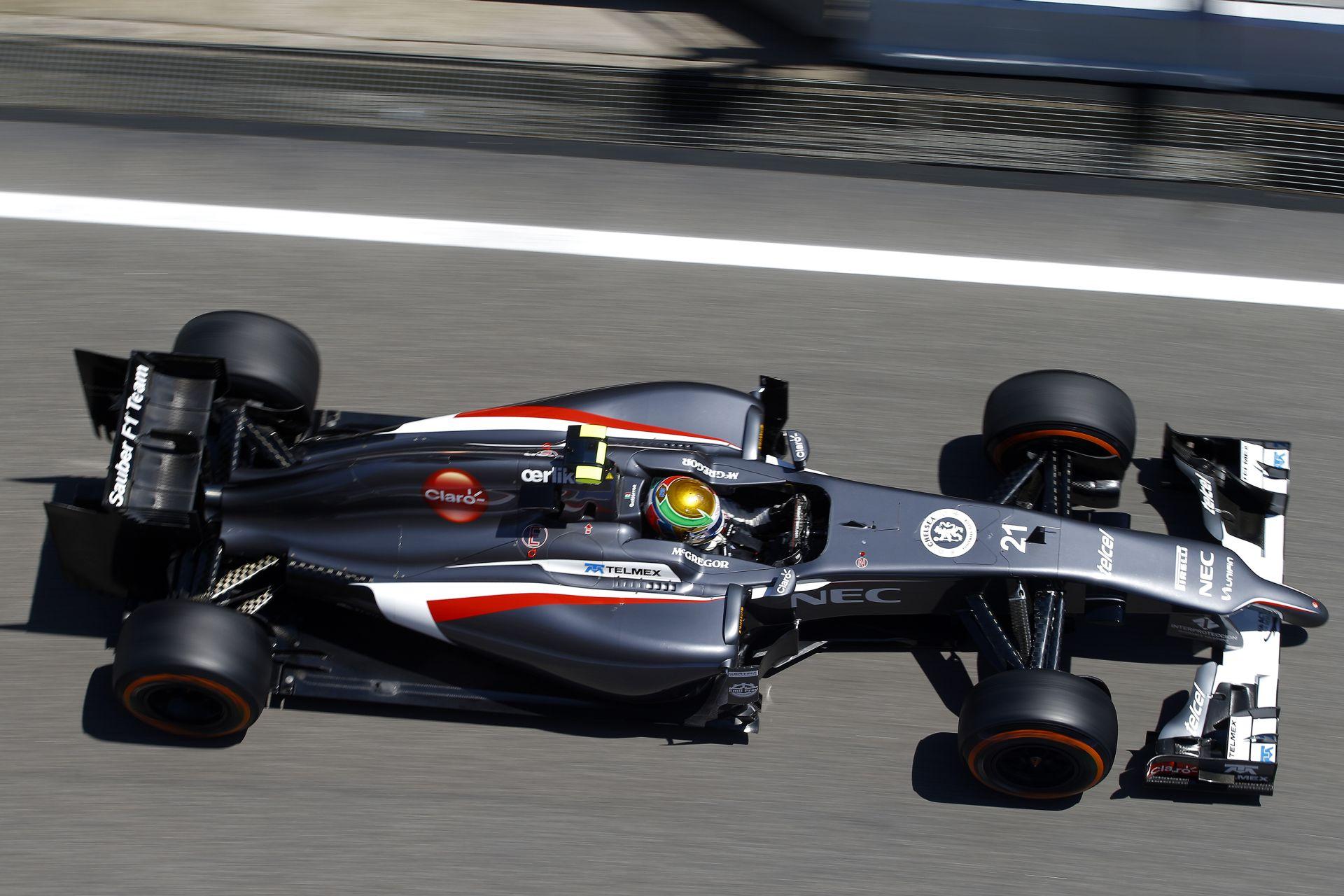 Sauber: Autótörés és kisebb előrelépések Monacóban az első napon
