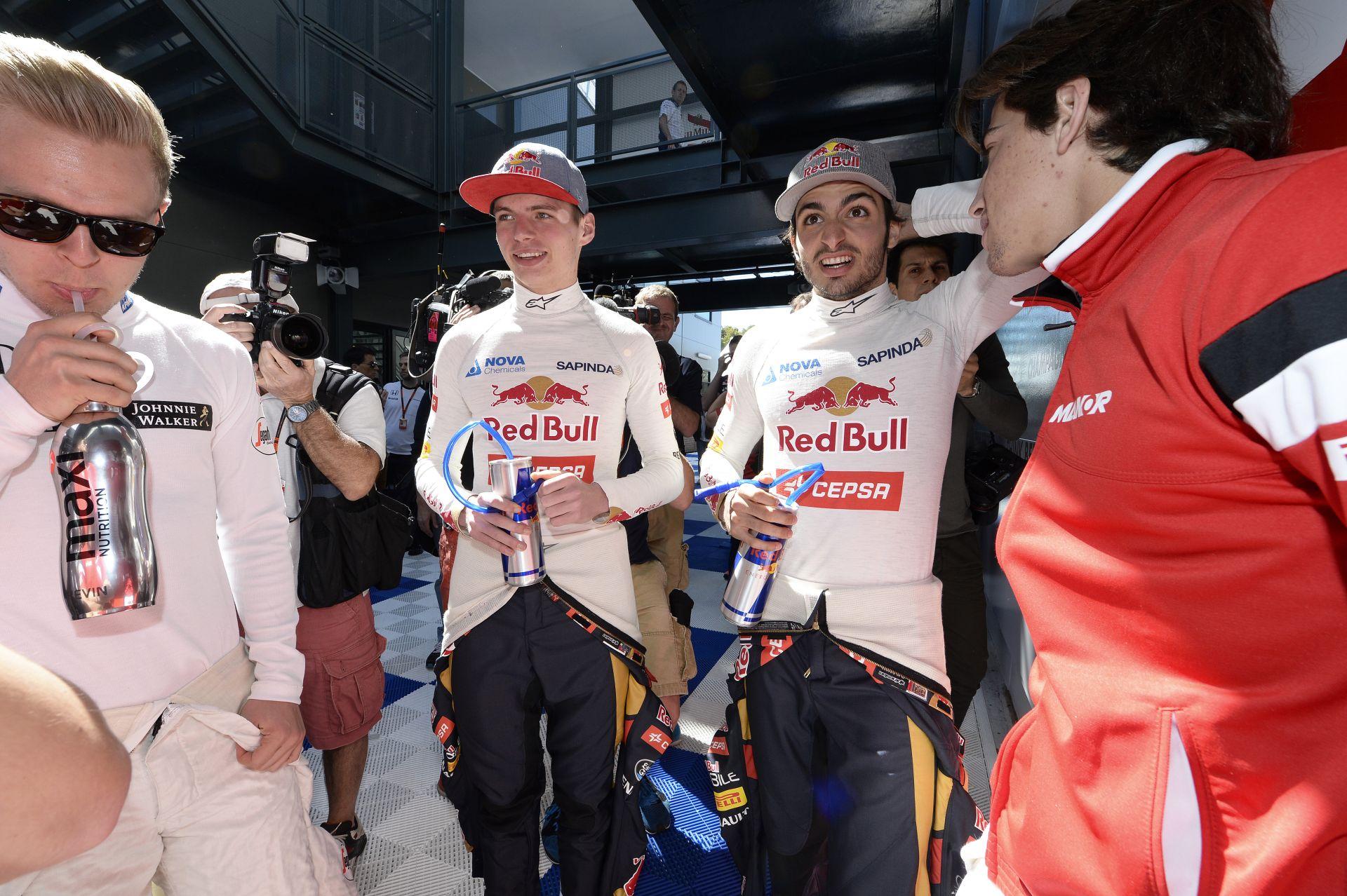 Marko: Verstappen és Sainz elég érettek a Forma-1-hez!