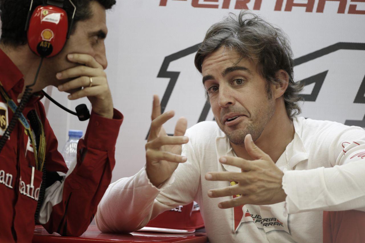 Raikkönen egy jobb napot fogott ki, Alonso már kevésbé