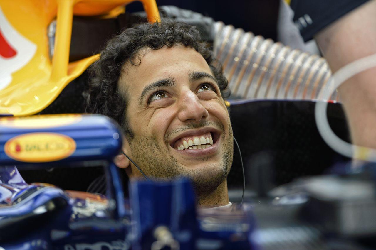 Ricciardo fel van pörögve: még motiváltabb, hogy a dobogón végezzen!