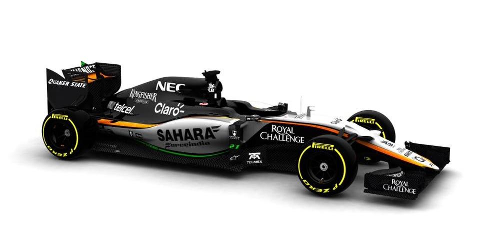 Bemutatták a Force India 2015-ös autóját