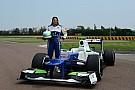 Röviden: 112 kört tesztelt Fioranóban a Sauber női tesztpilótája