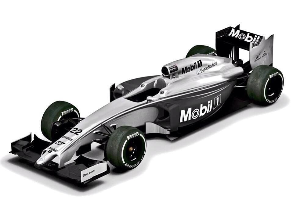 Hivatalos: Új festéssel készült a McLaren Ausztráliára