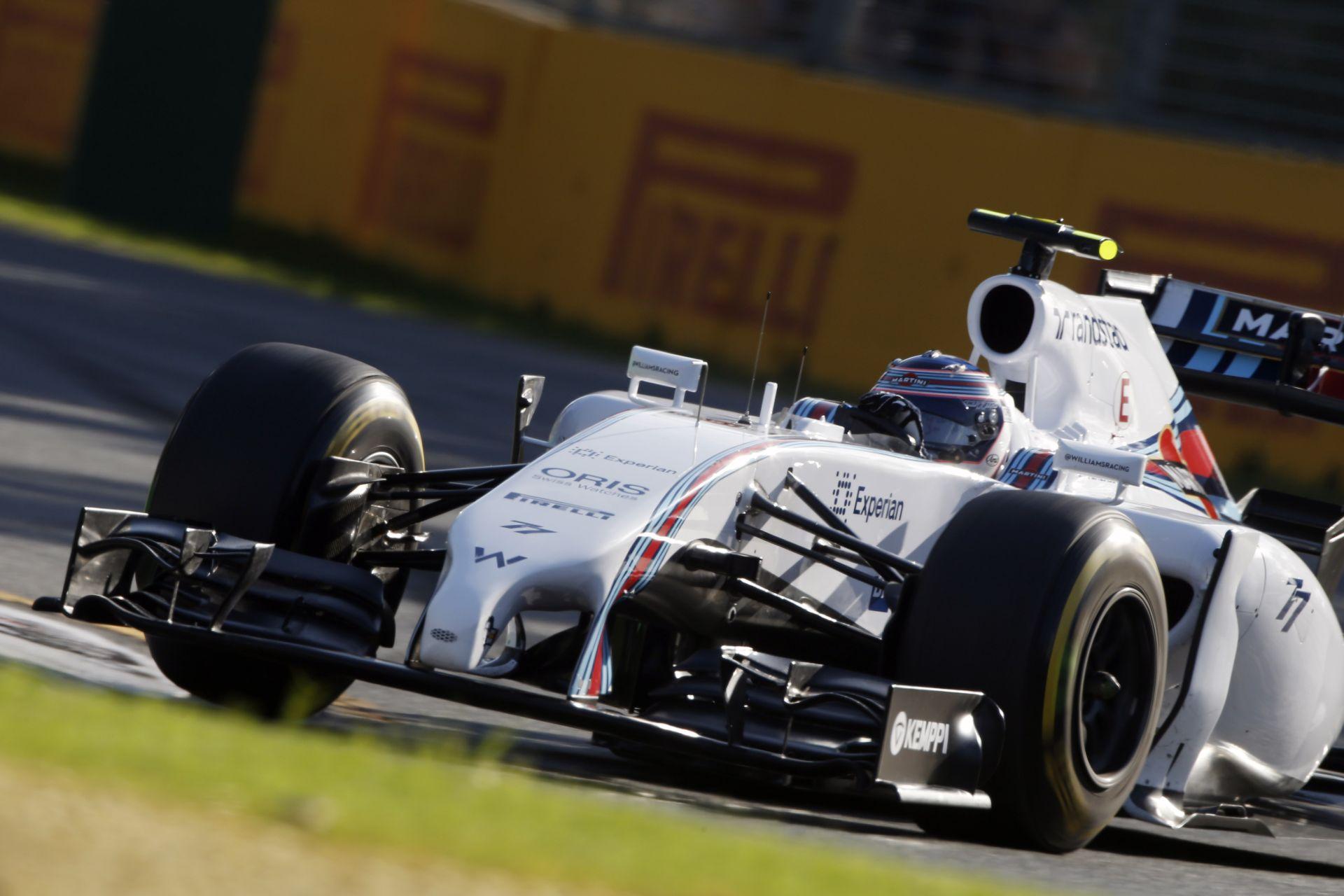 Bottas: A Williams még mindig nem mutatta meg az igazi erejét