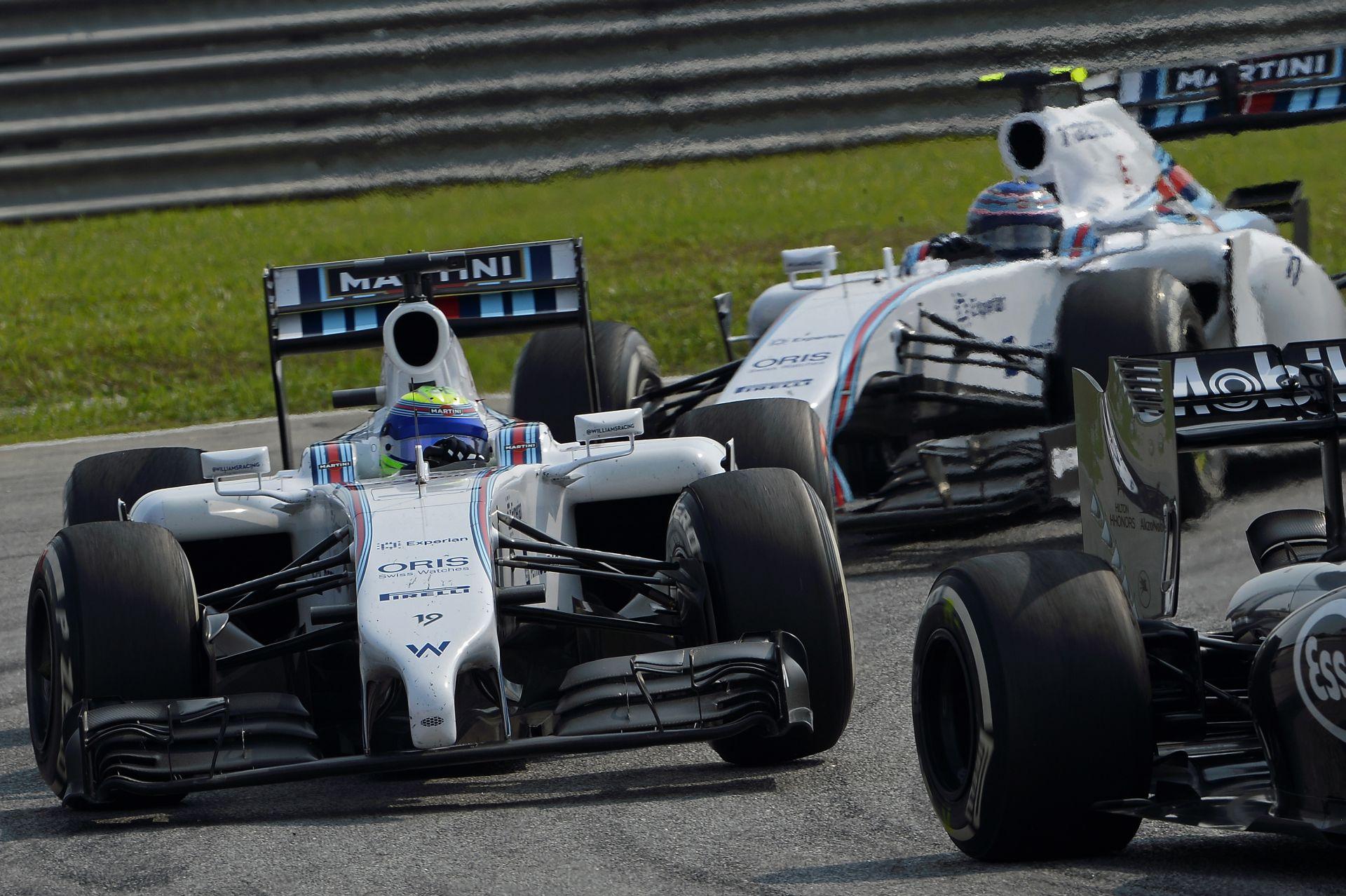 Williams: Massa nem vízhordó és Bottast visszaküldtük volna mögé, ha...