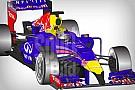 Rajzon a 2014-es Red Bull: nem szép, az biztos