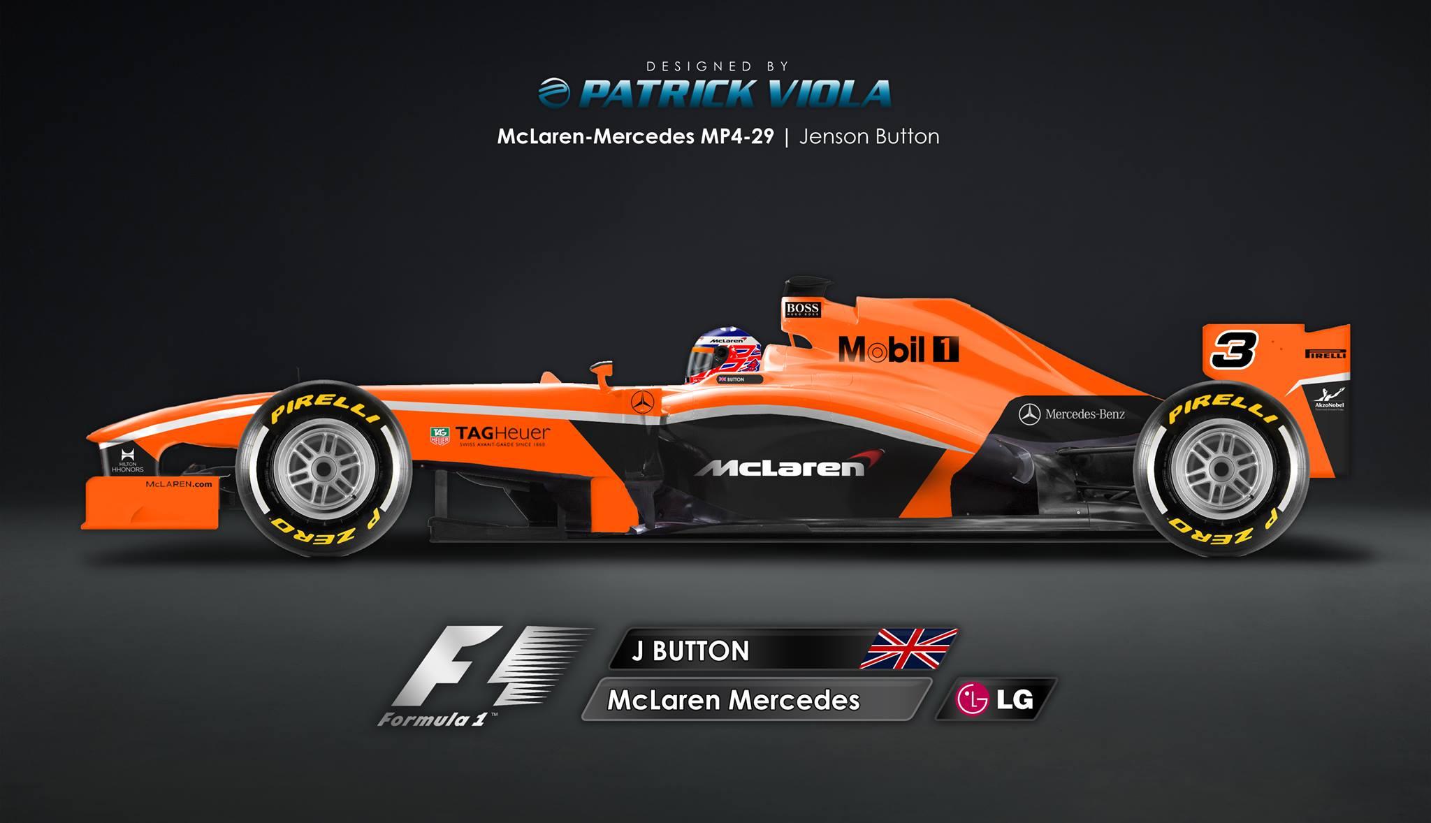 Így nézhet ki a McLaren legújabb festése narancssárga alappal