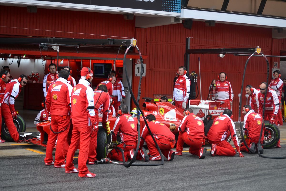 Ferrari: Egy hosszabb szünet jól jött volna a Német Nagydíj előtt