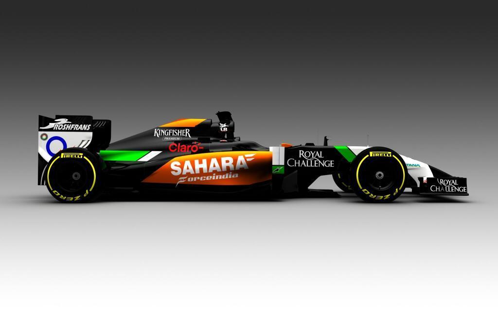 Kedd reggel mutatja meg magát teljesen a 2014-es Force India