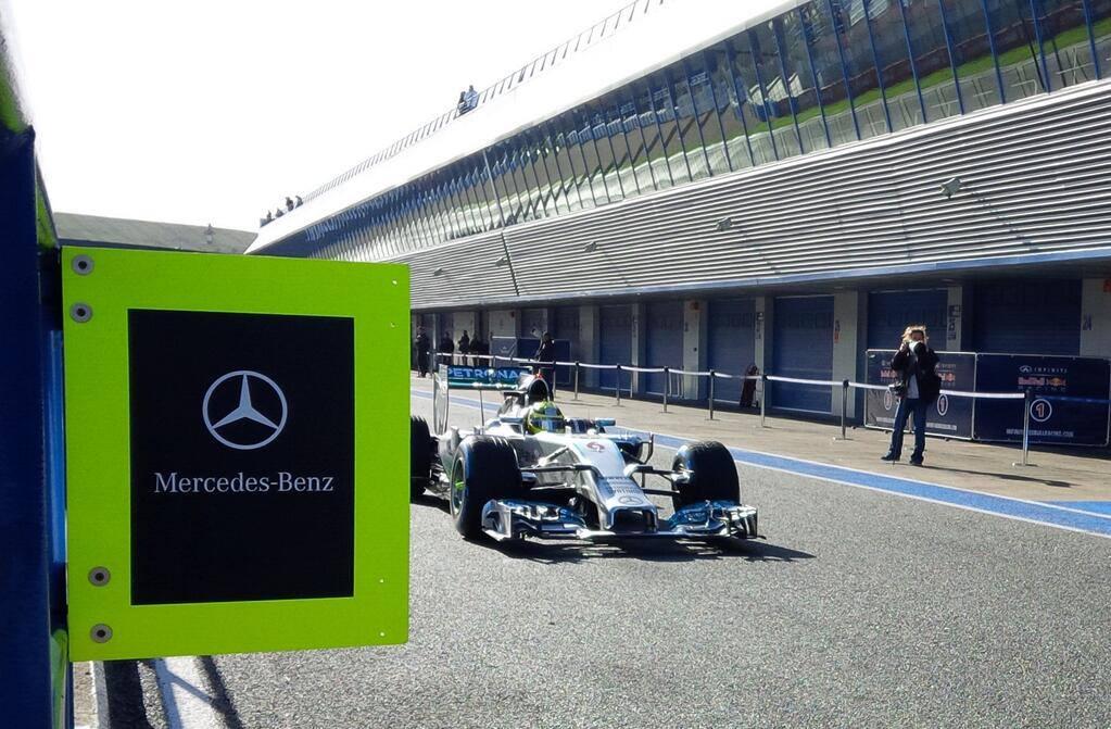 Rosberg: Az új Mercedes kormánya olyan, mint egy okostelefon