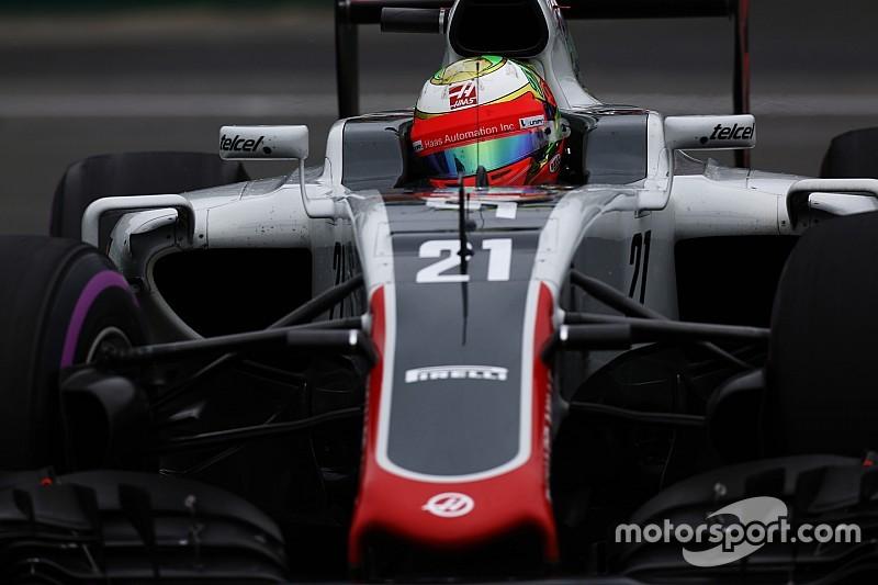 Gutiérrez atribuyó sus problemas a los neumáticos