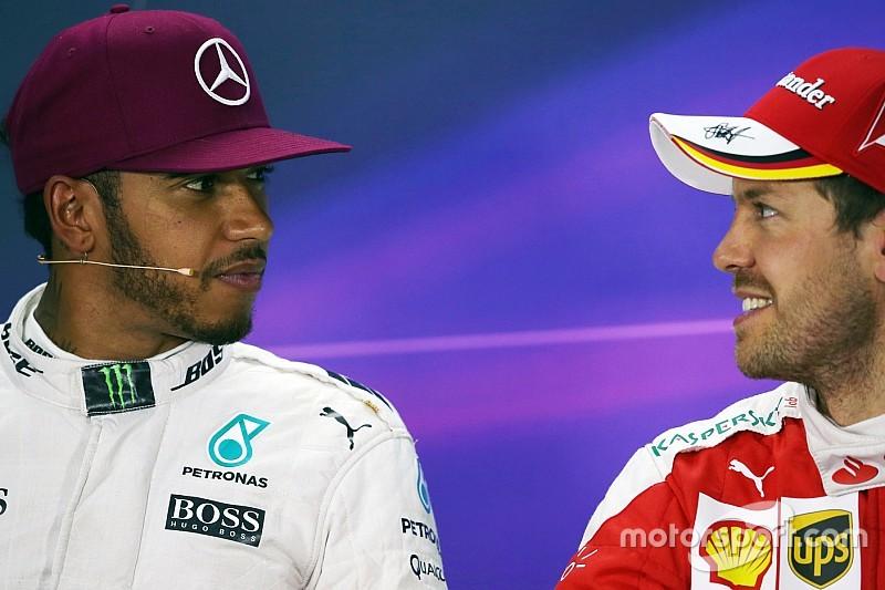 Hamilton y Vettel imponen récord de puntos de F1