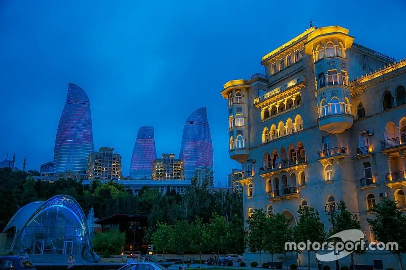 Bildergalerie: Erste Fotos vom neuen Formel-1-Stadtkurs in Baku