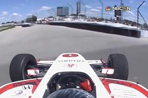 Indy Lights BRÉKING Indy Lights: Brutális baleset a versenyen: Szétszakadt autó, törött csukló