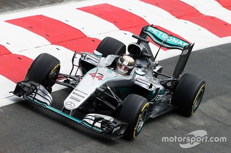 Formel 1 in Baku: Lewis Hamilton auch im dritten Training Schnellster