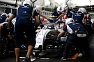 Williams evenaart F1 pitstop record