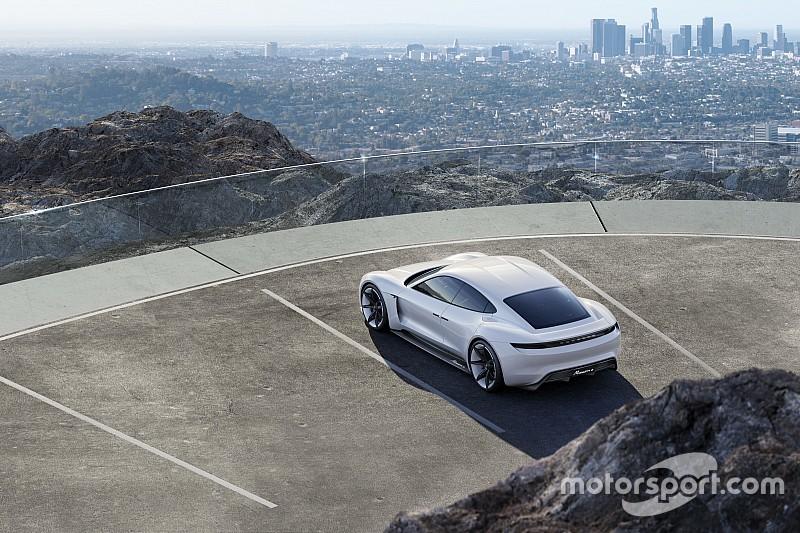 Porsche neemt Tesla Model S totaal niet serieus
