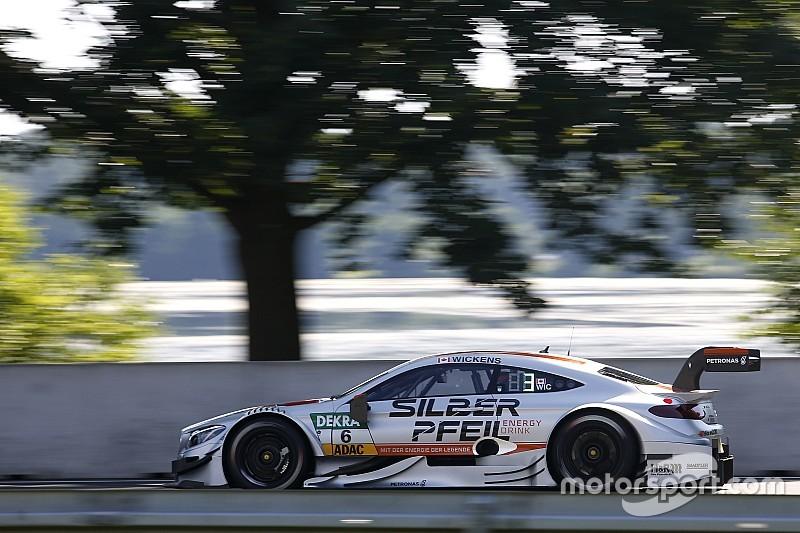 DTM Norisring: Mercedes pakt koppositie in tweede training