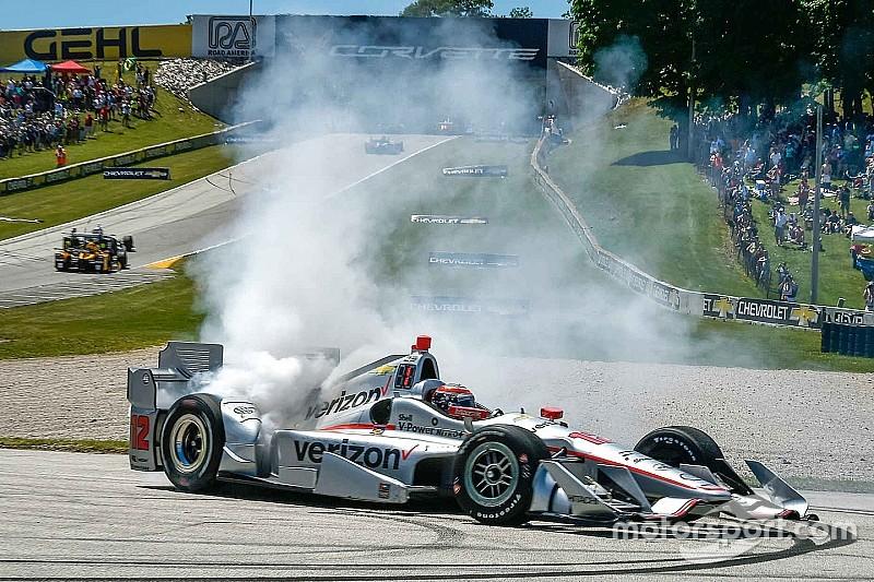 IndyCar Elkhart Lake: Will Power hält Tony Kanaan auf Distanz
