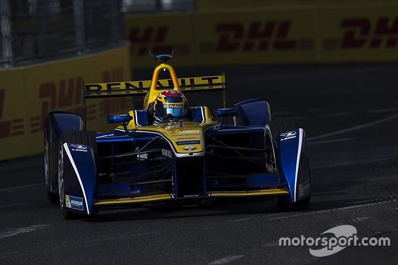 Formule E Londen: Buemi snelst in tweede training