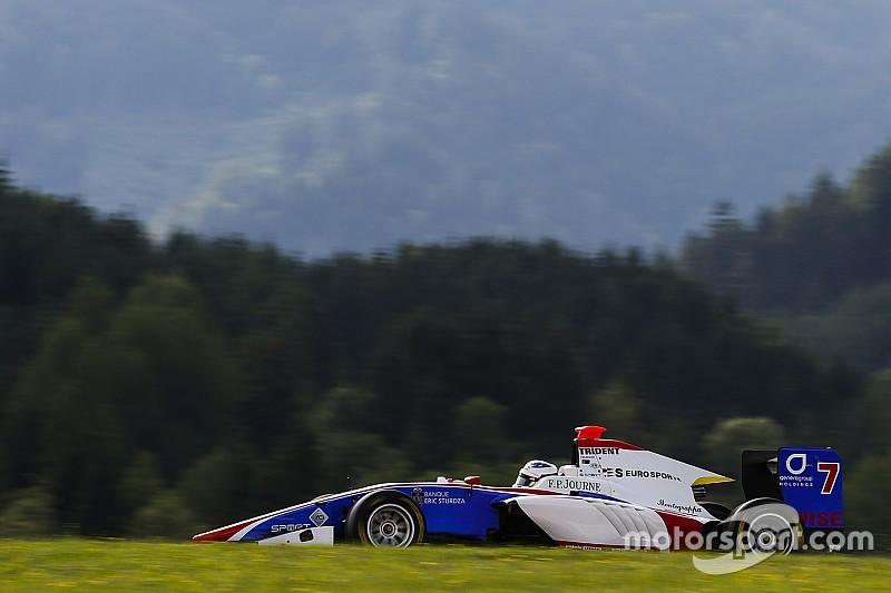 Alesi moet na crash GP3-weekend aan zich voorbij laten gaan