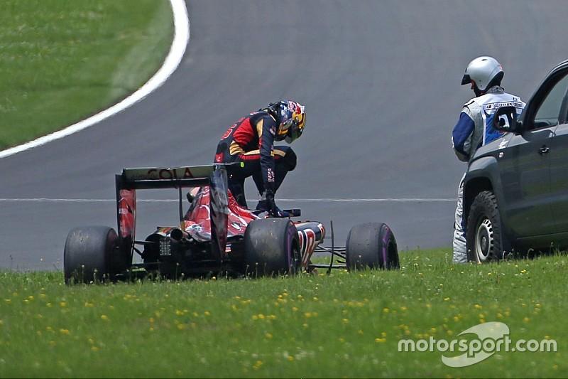 """Sainz rompió el motor en la Q1: """"Tocará salir muy atrás"""""""