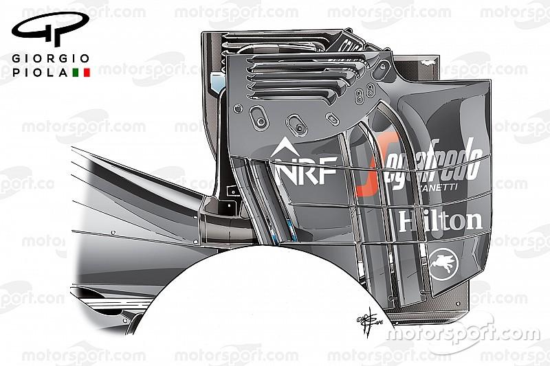Radicale achtervleugel McLaren blijft tot Silverstone-test op de plank