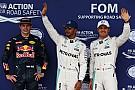 Verstappen ijzersterk derde in kwalificatie Engeland, Hamilton op pole