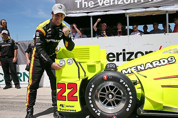 Pagenaud obtiene la pole 500 para Penske