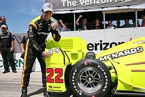 IndyCar Reporte de calificación Pagenaud obtiene la pole 500 para Penske