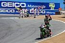 Laguna Seca WSBK: Rea wint eerste race, Van der Mark vierde