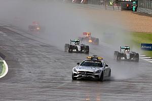 F1 Análisis Correr con lluvia, esa es la cuestión