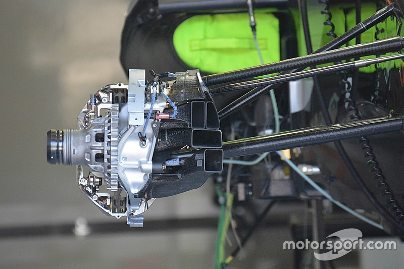 Force India: le prese d'aria per i freni e per l'aerodinamica