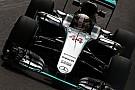 Hamilton arrancó adelante en Hungría