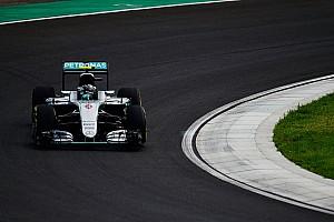 F1 Reporte de prácticas Rosberg lideró la segunda sesión en Hungría y Hamilton chocó