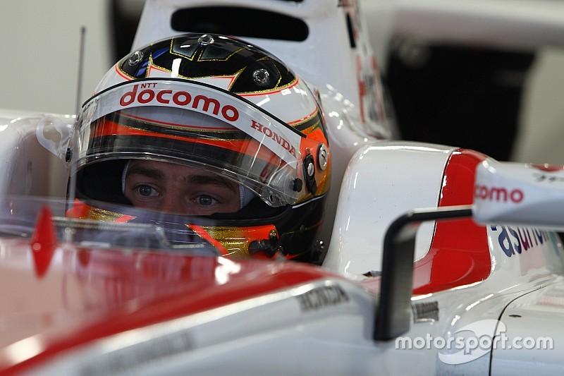 """Vandoorne: """"Geluk gehad bij spin in Super Formula"""""""