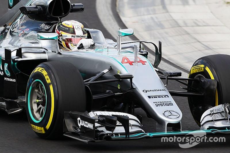 El asiento de Hamilton se rompió en el accidente del viernes