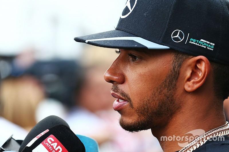 """Hamilton: """"La pole? Non sono troppo deluso. Io ero molto veloce"""""""