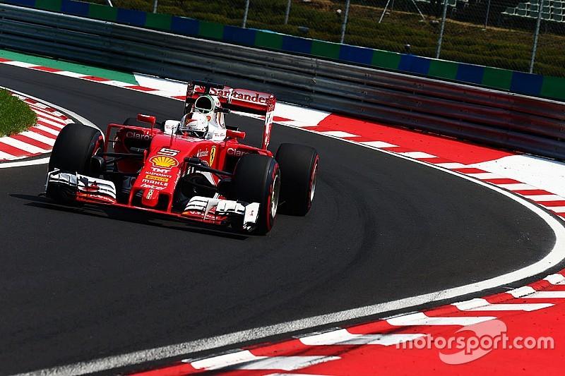 """Vettel: """"Ferrari was veel sneller dan Red Bull vandaag"""""""