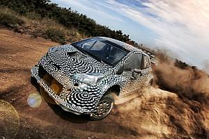 WRC News Video: Erste Fahrbilder vom neuen Toyota Yaris WRC für 2017