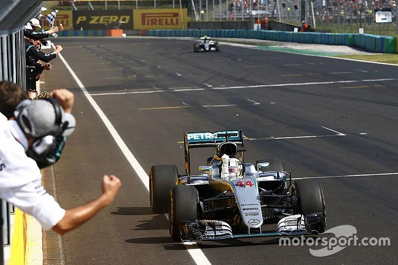Hamilton, al nivel de Senna, Schumacher y Prost