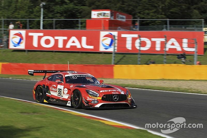 24 uur Spa: Mercedes boven in prekwalificatie