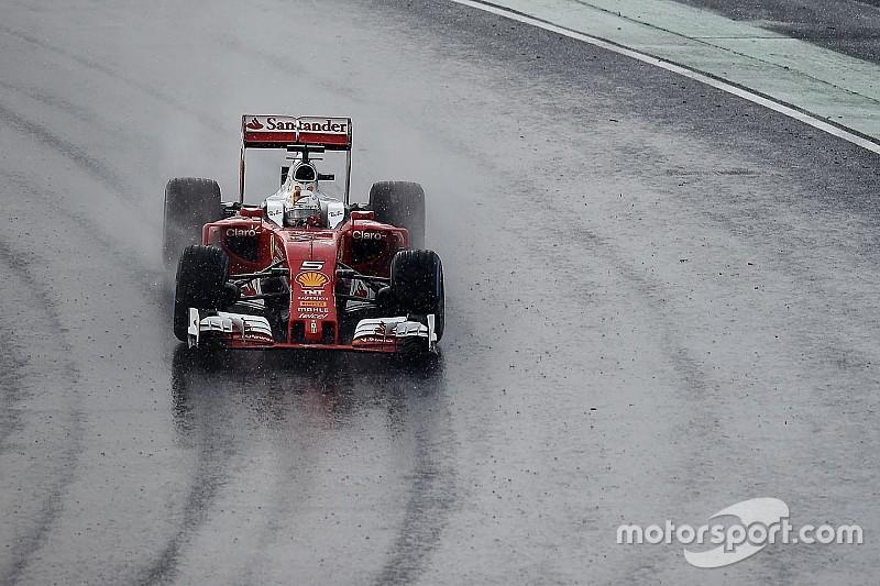 Vettel será el primero en probar los Pirelli de lluvia más anchos de 2017