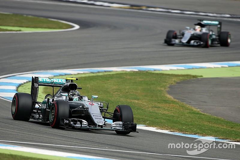 Rosberg lideró la primera práctica en Alemania
