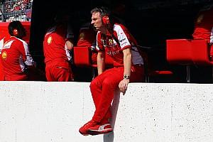 Formule 1 Actualités Jock Clear - Le talent d'Allison va manquer à Ferrari