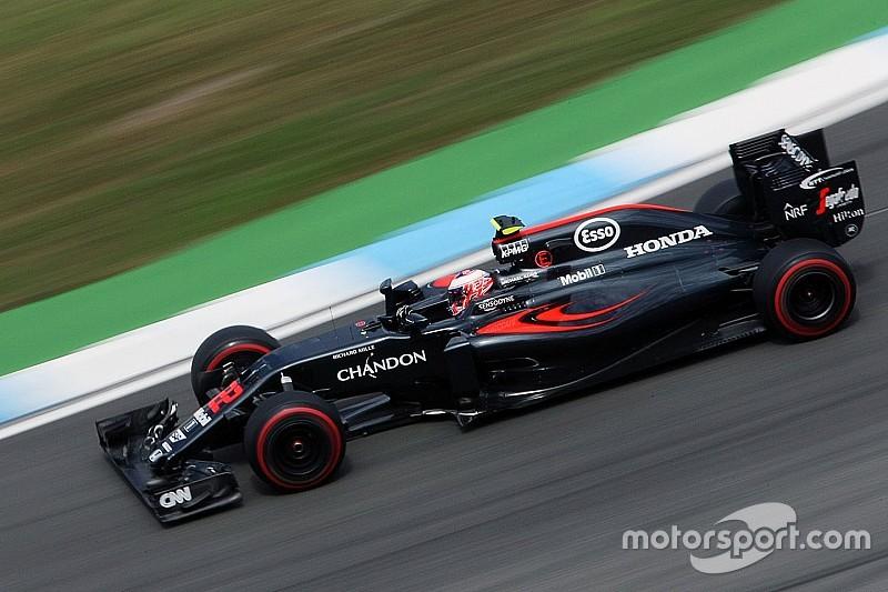 Button krijgt nieuwe motorcomponenten voor GP Duitsland