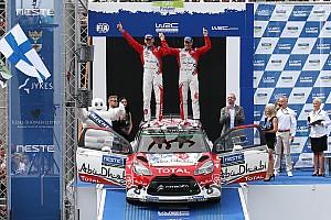 WRC Resumen de la etapa Meeke completó su dominante fin de semana en Finlandia
