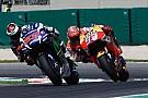 Marquez e Lorenzo condividono la pista d'allenamento ad Alcarras